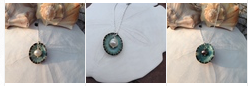 "Jackie Gallagher Designs - The ""Ireland"" pearl and limpet shell necklace"